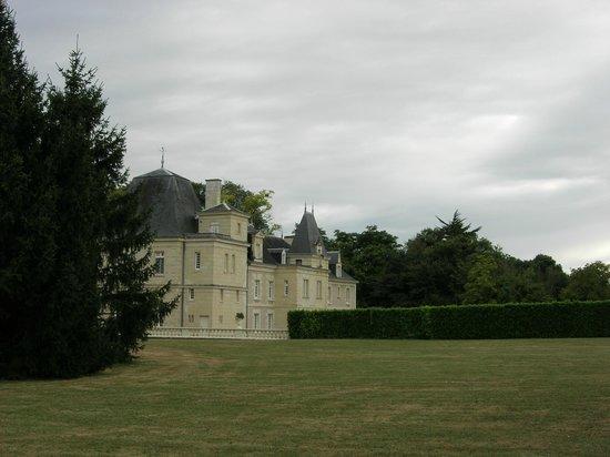Chateau de Jalnay : Achterzijde chateau, vanuit de tuin
