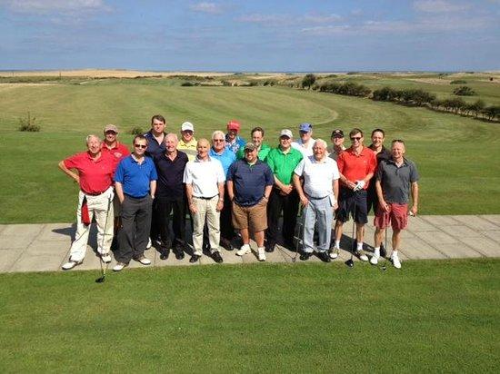 The Royal Bridlington : Flamboro Head GC - Golf before Royal Brid
