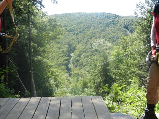Berkshire East Canopy Tours: And pictures seldom do justice.