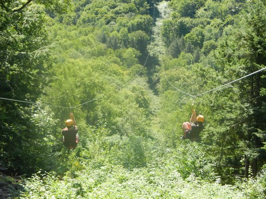 Berkshire East Canopy Tours: Putting it in perspective.