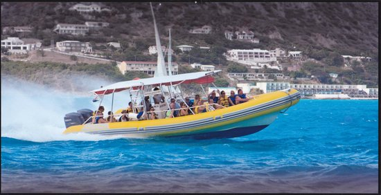 Power Rafting by Out Island Charters: Underway