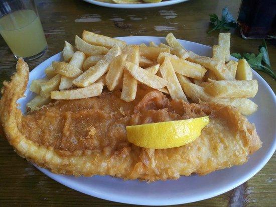 Harbour Lights Restaurant : Fish & Chips di merluzzo