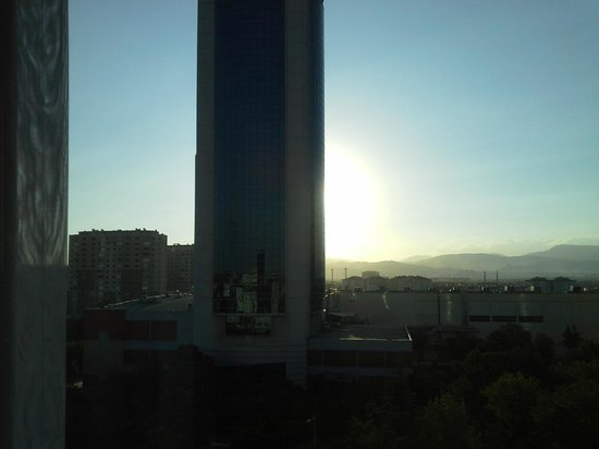 Ozkaymak Konya Hotel : Odadan manzara