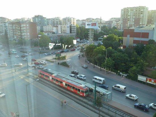 Ozkaymak Konya Hotel : Oda manzarası
