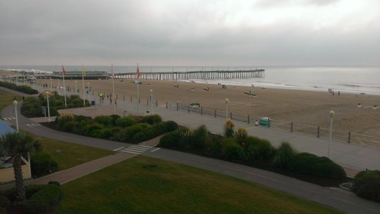 Four Points by Sheraton Virginia Beach Oceanfront: view from our balcony