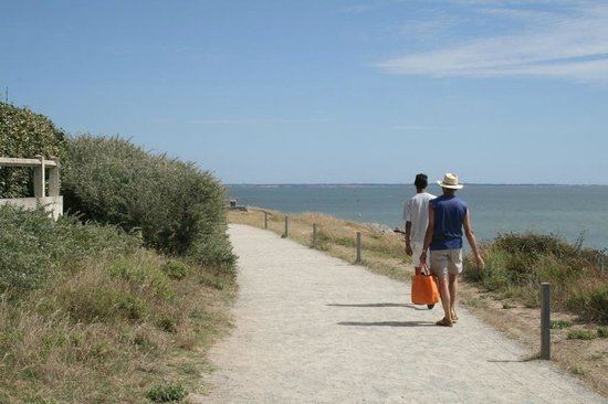 Le Marina : Chemin côtier