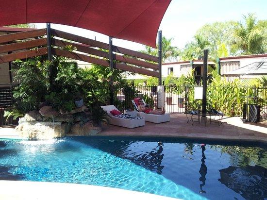 Pine Creek Railway Resort : Poolbereich