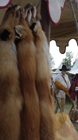 Fort Bridger State Historic Site: lots of fur