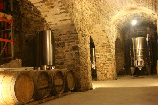 Egiategia : Intérieur du Chai - Ancienne poudrière du fort de Socoa