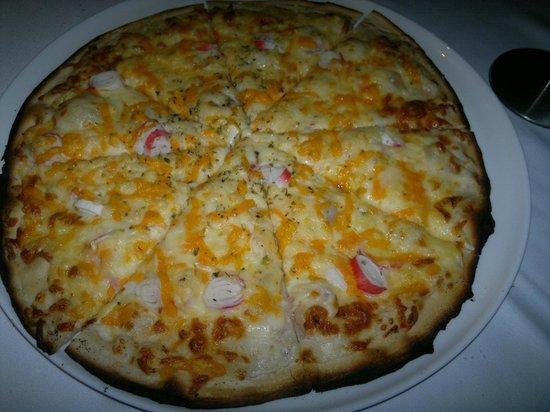 Calendu mar: Pizza blanca del mar - Restaurant Caldendu'mar (Lloret de Mar)