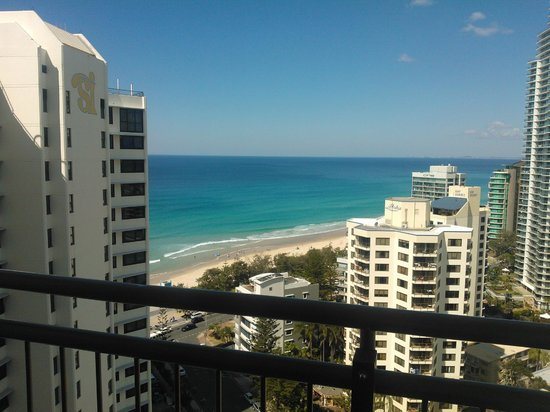 Beachcomber Resort Surfers Paradise: The other side of the balcony - 2310