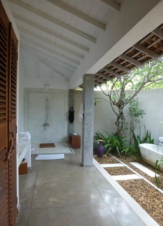 The Frangipani Tree by Edwards Collection: Frangipani flowers bathroom