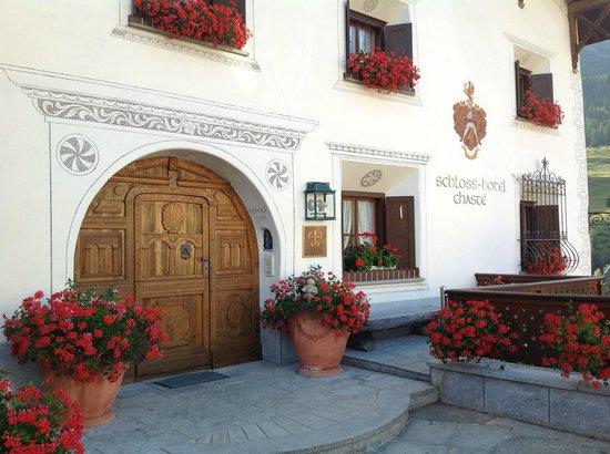 Schlosshotel Chaste : Eingangsbereich