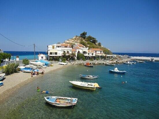 Kokkari, Grécia: porticciolo