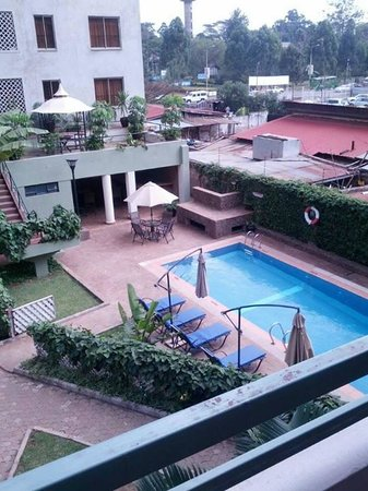Eldon Villas Limited: View from my balcony