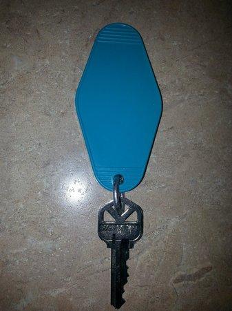 Sombrero Resort & Marina: 1990s room key