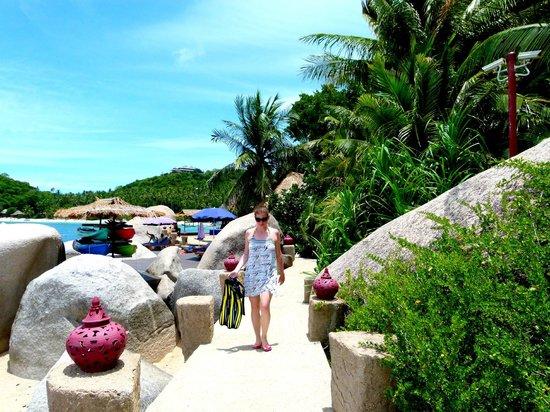 Jamahkiri Resort & Spa: Spiaggia privata