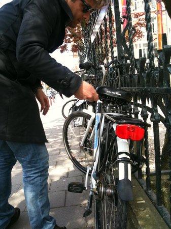 NH Collection Amsterdam Barbizon Palace: nh bike