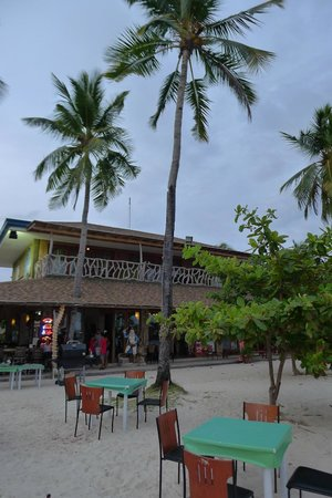 Malapascua Legend: The Legends resort as seen from Bounty Beach