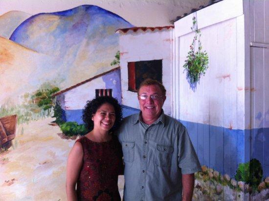Costa Rican Language Academy CRLA: Paola and me