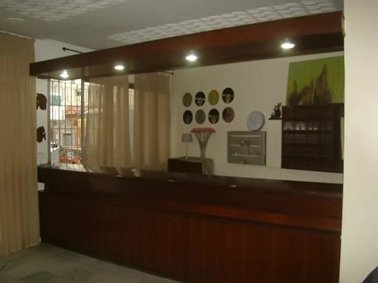 Hotel Al Baraka : Reception area