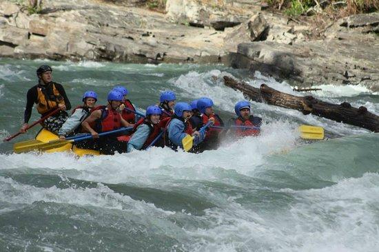 Chinook Rafting : White water rafting!