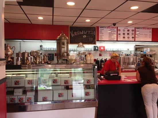 DOCO The Donut & Coffee Company: Inside donut shoppe