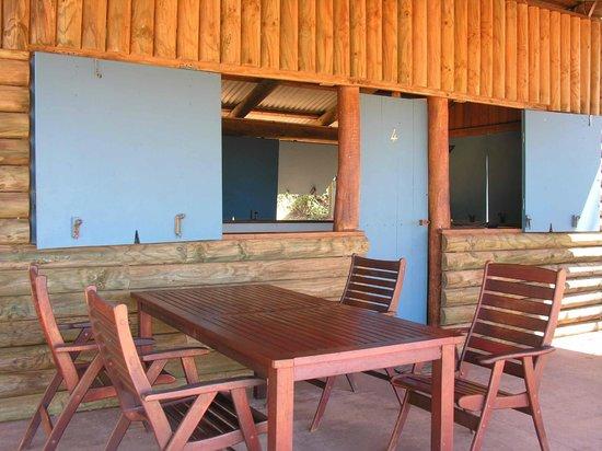 Kooljaman at Cape Leveque: Veranda cabin