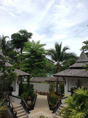 accès restaurant et piscine