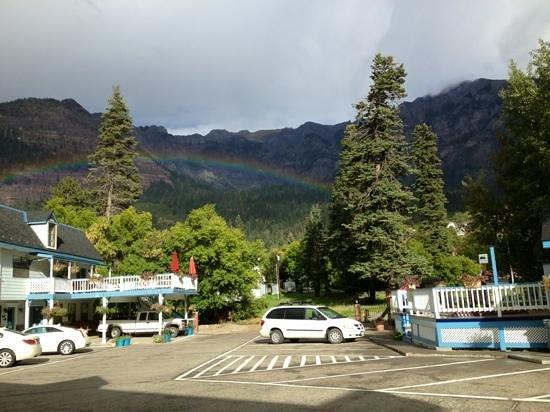 Rainbow at the Ouray Victorian Inn