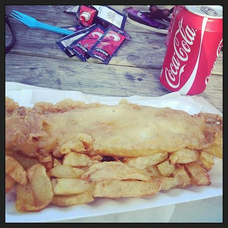 Wendon Holidays : chip shop fish and chips