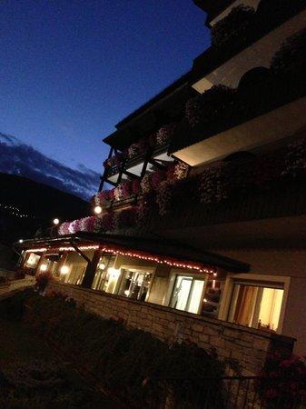 Hotel Baita dei Pini: Hotel at night