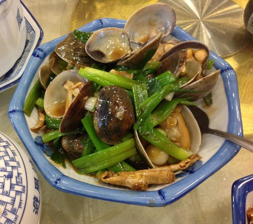 Seafood Village Restaurant : Clams with black bean sauce