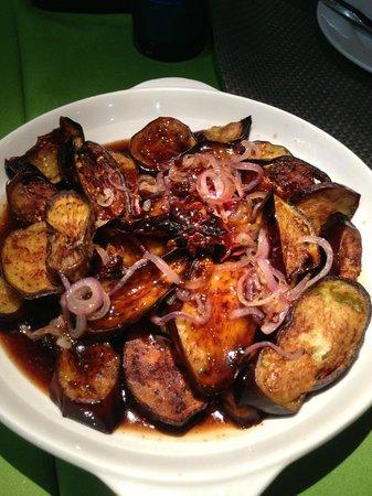 La Isla Bonita: Local Filipino eggplant dish, delicious!