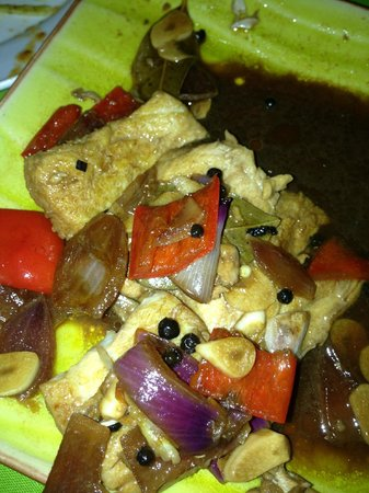 La Isla Bonita: a meat dish