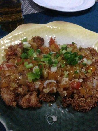 La Isla Bonita: Fried fish dish