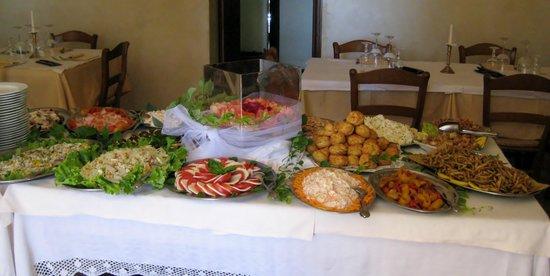 Al Frantoio : il buffet