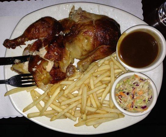House of Jazz: Nice presentation.. Moist chicken
