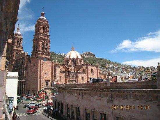 Hotel Santa Rita: Desde el balcón