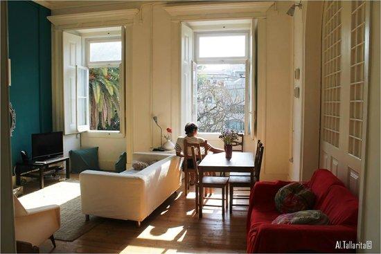 Jardim de Santos Hostel: living room