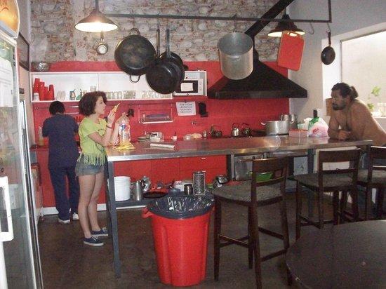 Aldea Hostel Cordoba : Cocina