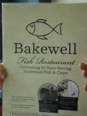 Bakewell Fish Fish And Chips