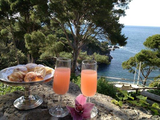 Mezzatorre Resort and Spa : cocktail in terrazza