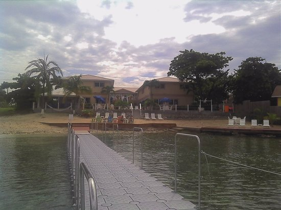 Coral Sands Resort : View of resort taken from the dock