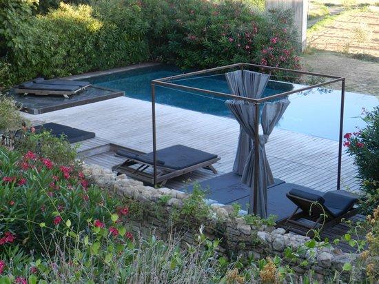 Clos du Lethe: La piscine