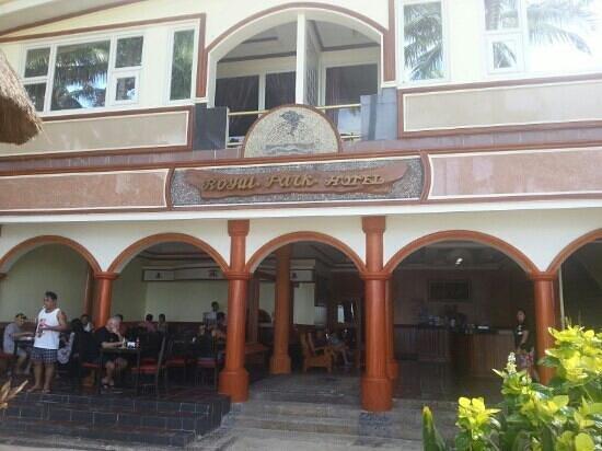 Boracay Royal Park Hotel: 로얄파크 정문샷