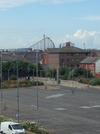 Travelodge Blackpool South Shore: view from our room