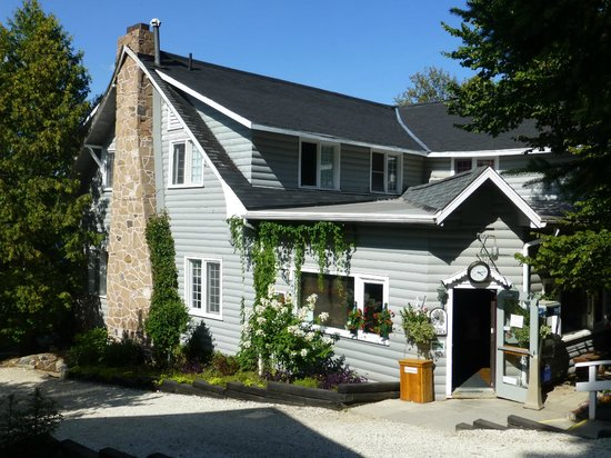 Bonnie View Inn : Haupthaus mit Rezeption