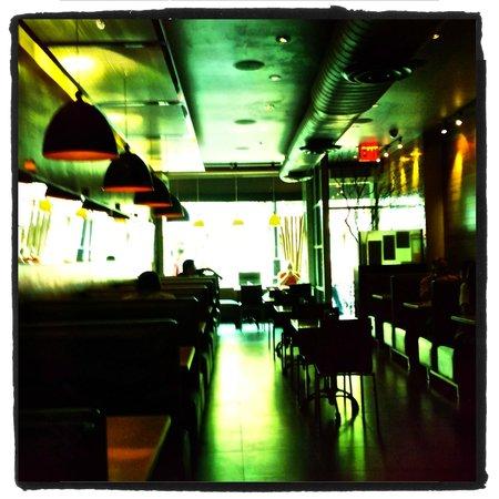 Sanford's: Inside the restaurant.