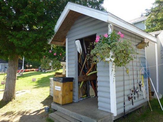 Bonnie View Inn : Gartenhaus